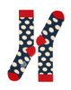 Funky Feet Large Polka Dots Men's Box Set
