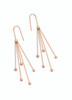 Skandi Five Pins Rose Gold Earrings