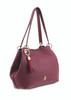 Sicily Burgundy Tote Bag