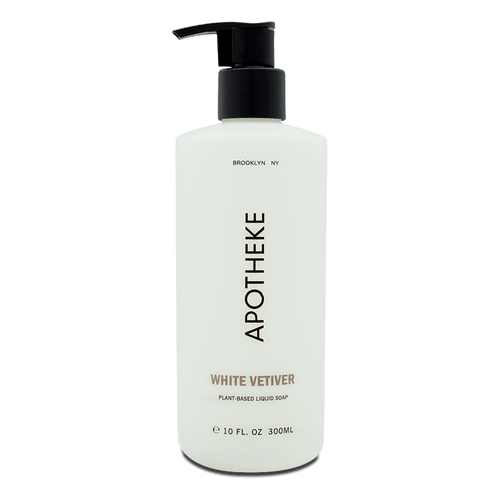 White Vetiver Plant-Based Liquid Soap