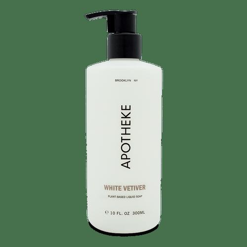 White Vetiver Plant-Based Liquid Soap