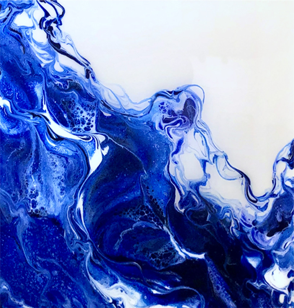 Gift Certificate for Custom Fluid Acrylic & Resin Class. (2-Day)