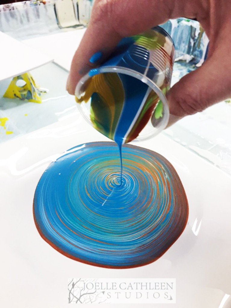 Take Home Pour Painting Kits. Create at Home!