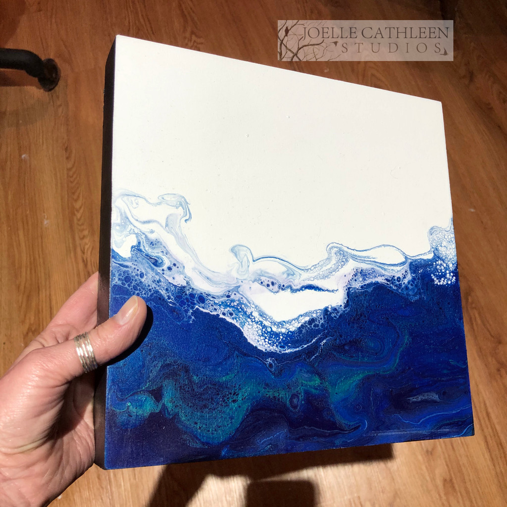 Fluid Acrylic Private Workshop (2 Hours)