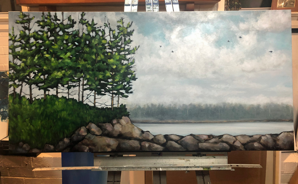 Bluff 11 (Original Painting Available Only)