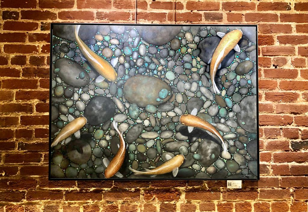 Amethyst Hunters (Original Painting)