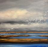 Carolina Flight (Original Painting) SOLD