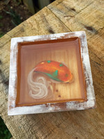 "Custom ""Kaptive Koi""  ( Layered Fish Painting in a Box )"
