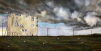 """""""Ain't No Storm"""" Canvas Print. 12' x 24"""""""