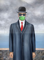 """SON OF A PANDEMIC"" Hand Embellished Canvas Proof/Print"