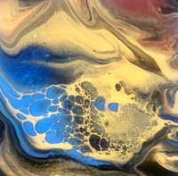 Fluid Acrylic 2-HOUR Private Workshop