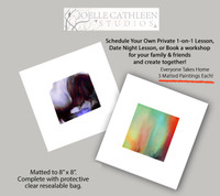 Intro. to Alcohol Inks - Schedule Your Own Solo or Group Private Workshop!