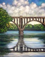 Fredericksburg Train Bridge III