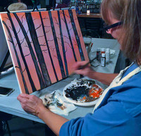 Acrylic Landscape Painting -Schedule Your Own Solo or Group Private Workshop!