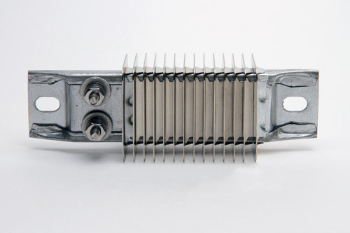 Heater Strip with Fins