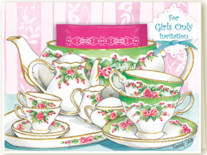 For Girls Only Tea Party
