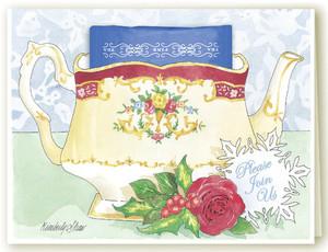 Tea Pot Invitation
