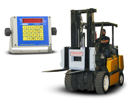 Cambridge DL-CSW-20AT-LT-10K Dyna-Lift Truck Scale