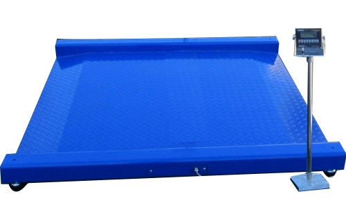 """Drum Scale (built-in ramps) 27""""(L) x 27""""(W) 1000lbs"""