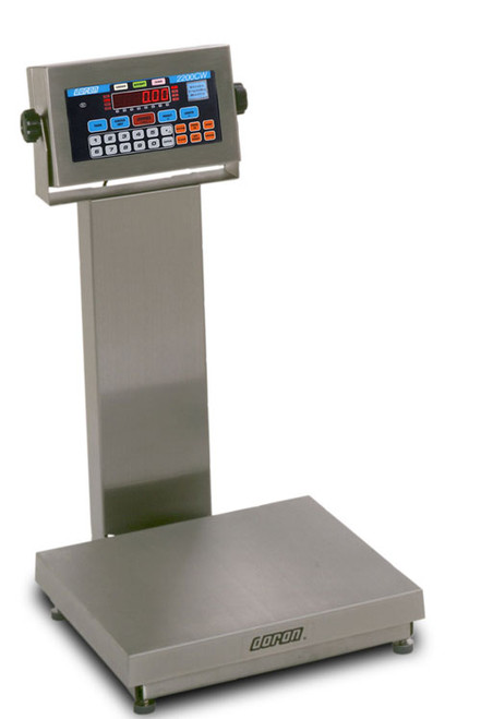 """APS43100CW/18S Digital 18""""x18"""" Checkweigh Scale"""