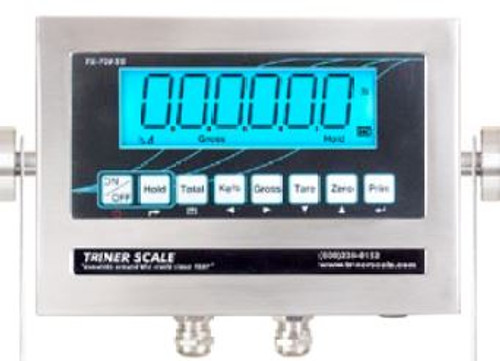 TS-700 WB Triner Stainless Steel LED Indicator for Weigh Bars with Internal Rechargeable Battery