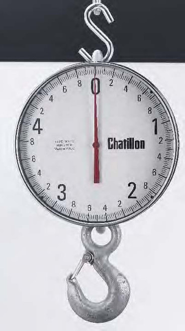 Chatillon WT12-05000K-SS Crane Scale with Swivel Shackle