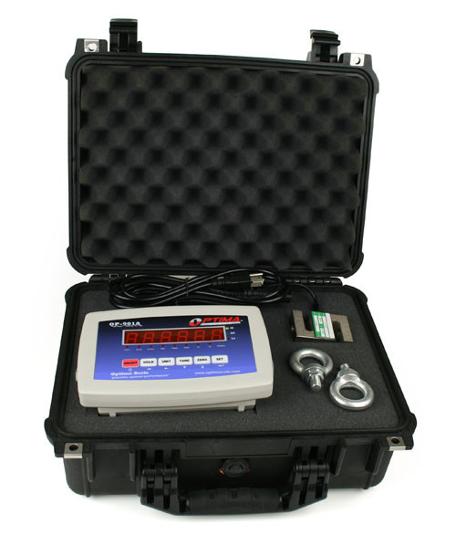 CCS-2.5K-P Hanging Scale with Case