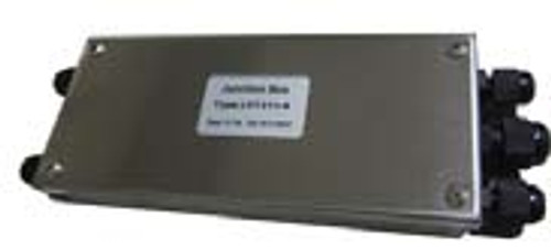"""Junction Box (With Summing Card) - Stainless Steel - 4 Channel - 8""""(L) x 3""""(W) x 1.5""""(H)"""