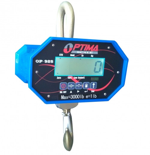 Heavy-Duty LCD Crane Scale with Remote Control 20000lbs