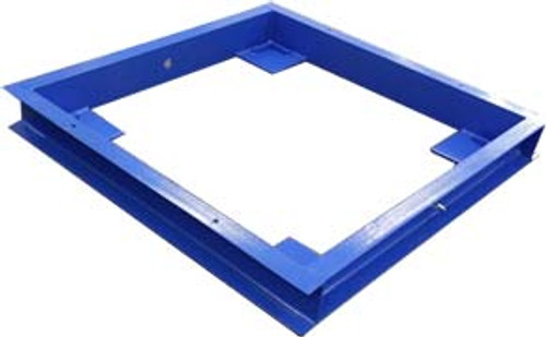 OP-916-PF-4x4 Pit Frame for Floor Scales 4'x4'