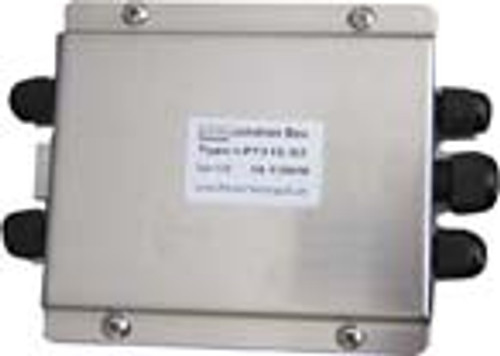 """Junction Box (With Summing Card) - Stainless Steel - 4 Channel - 6""""(L) x 4.5""""(W) x 1.5""""(H)"""