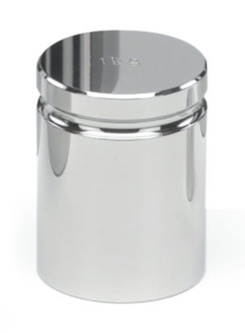 1000g ASTM Class 2 Cylindrical Calibration Weight