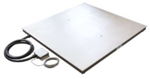 HFS-SSP4848-05 - HFS-SS SERIES Washdown  Poly Top Low Profile & Pit Type Floor Scales