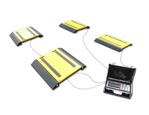 OP-928-4-1614 Portable Vehicle Weighing System