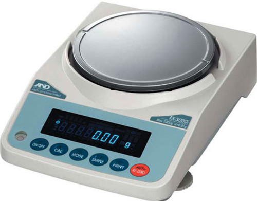 FX-1200iNC Precision Balance NTEP certified all countries but only for grams in Canada
