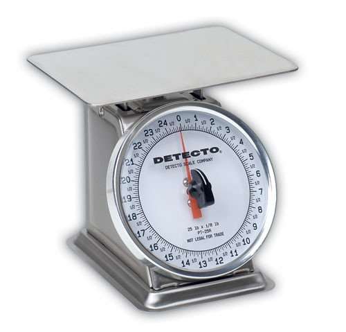 PT-25-SR Top Loading Dial Scale