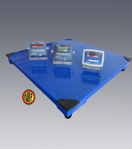"""Stainless Floor Scale 3' x 3' x 4.2""""(H) 5000lbs"""