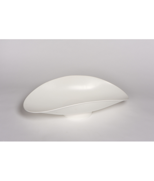 """431 P Plastic Scoop - 11.5"""" x 21.5"""" x 5.5"""", Footed"""