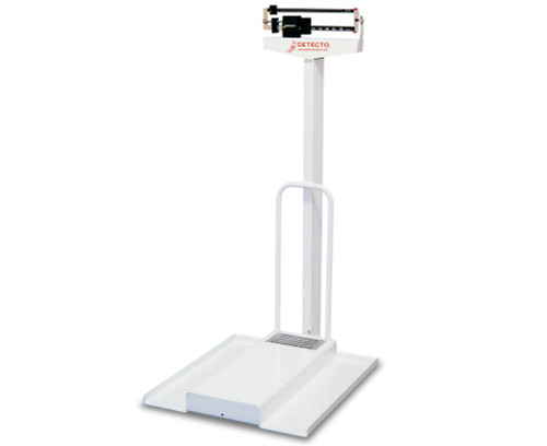 Detecto 485 Weigh Beam Chair Scale