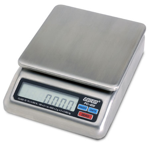 PC-400 Stainless Portion Control Scale 4