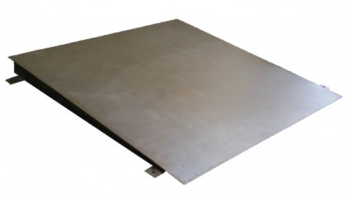 Stainless Steel Ramp for Floor Scales 4'(W) x 4'(L)