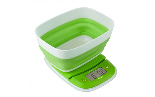 DIGITAL KITCHEN SCALE WITH COLLAPSIBLE BOWL - 11LBS X 0.1OZ - EXTEND-5K