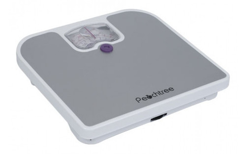 MECHANICAL BATHROOM SCALE - PEACHTREE SERIES, 275-POUND CAPACITY (MB-125)
