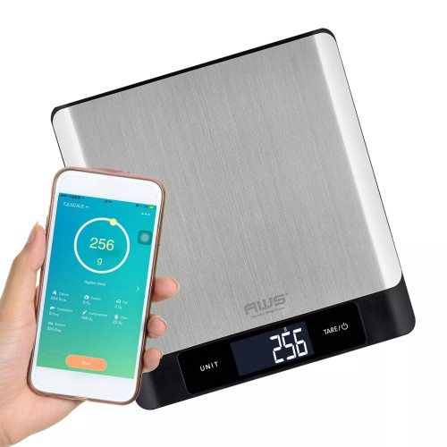 WIZARD-5KG BLUETOOTH KITCHEN SCALE WITH APPLICATION FOR IOS AND ANDORID 5000G X 1G (WIZARD-5KG)
