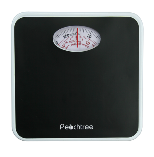 MECHANICAL BATHROOM SCALE - PEACHTREE SERIES, 275-POUND CAPACITY (RB-125)