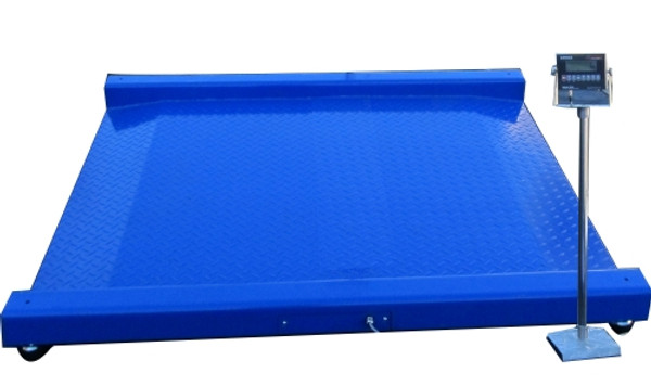 """Drum Scale (built-in ramps) 30""""(L) x 24""""(W) 1000lbs"""