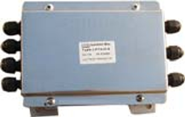 """Junction Box (With Summing Card) - Stainless Steel - 6 Channel - 20""""(L) x 14""""(W) x 5""""(H)"""