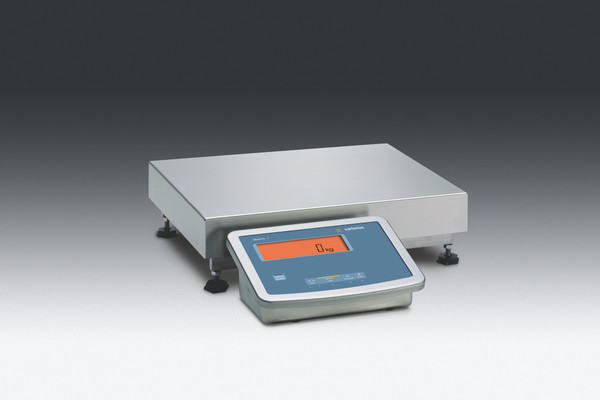 """MW1S1U-60FE-L  Midrics Complete Stainless Steel Bench Scales 120x.01 lbs 19.5""""x 15.75"""" platform , Non-Verifiable"""