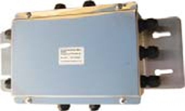 """Junction Box (With Summing Card) - Stainless Steel - 8 Channel - 30""""(L) x 17""""(W) x 5""""(H)"""