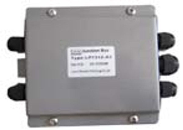 """Junction Box (With Summing Card) - Painted Mild Steel - 4 Channel - 6""""(L) x 4.5""""(W) x 1.5""""(H)"""